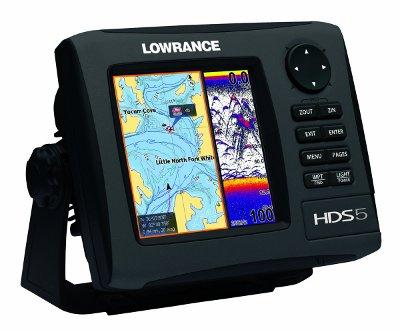 Lowrance HDS-5 Navigation