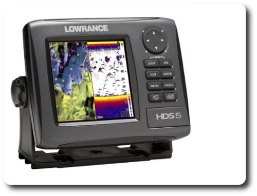 Lowrance HDS-7 Sonar Features