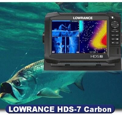Lowrance HDS-7 Carbon