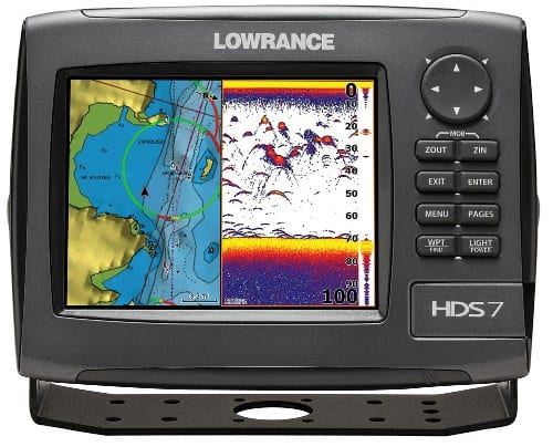 Lowrance HDS-7 Sunlight Viewable Display