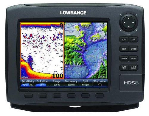 Lowrance HDS-8 Gen2 Split Screen