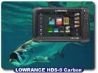 Lowrance HDS-9 Carbon