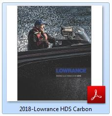 Lowrance HDS Carbon Specification 2018