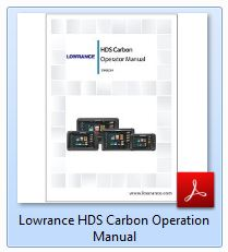 Lowrance HDS Carbon Operation Manual
