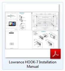 Lowrance Hook-7 Installation Manual