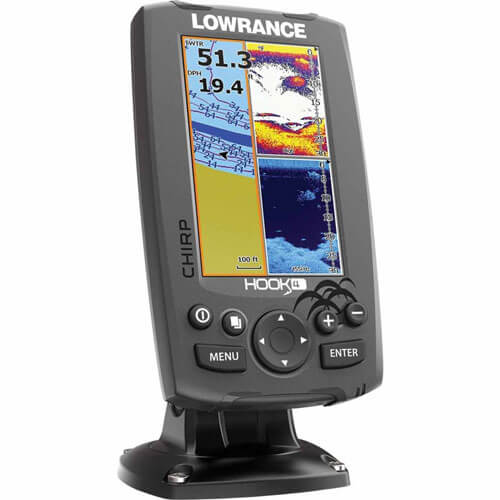Lowrance Hook-4 Features