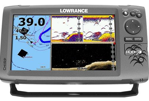 Lowrance Hook-9 Split Screen