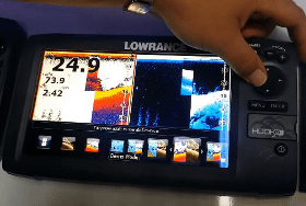 Lowrance Hook-9 For Sale