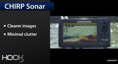 Lowrance Hook-4 Chirp Sonar