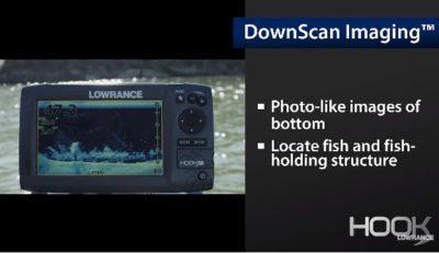 Lowrance Hook-4 DownScan Imaging