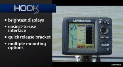 Lowrance Hook-7 Bright Display