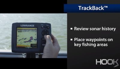 Lowrance TrackBack