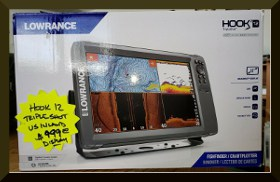 Lowrance HOOK² 12 For Sale