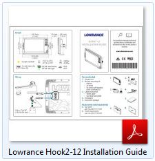 Lowrance Hook2-12 Installation Guide
