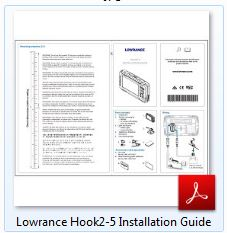 Lowrance HOOK² 5 Installation Guide