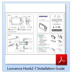 Lowrance HOOK² 7 Installation Guide