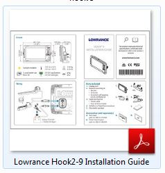 Lowrance HOOK² 9 Installation Guide
