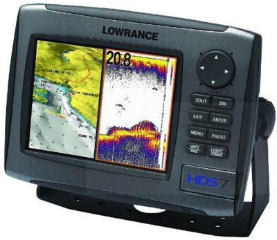 Lowrance HDS-7 Charting ~ Broadband
