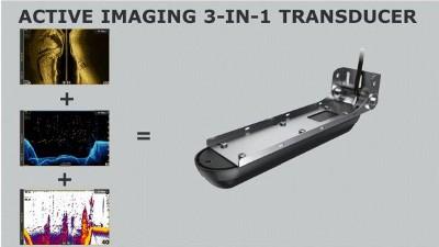 Lowrance Elite-9 Ti² - 3 in 1 Transducer