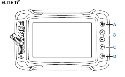 Lowrance Elite-12 Ti² - Screen Controls
