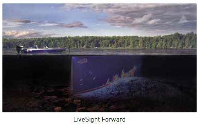 Lowrance HDS LIVE - LiveSight Forward