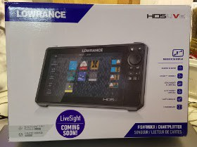 Lowrance HDS-9 LIVE For Sale