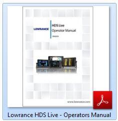 Lowrance HDS LIVE - Operation Manual