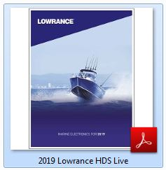Lowrance HDS LIVE Specifications 2019