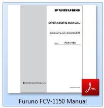 Furuno FCV-1150 Manual