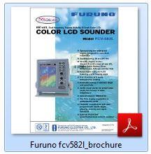 Furuno FCV-582L Brochure