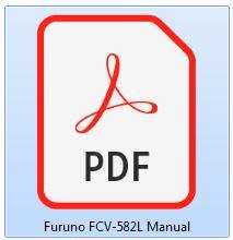 Furuno FCV-582L Manual