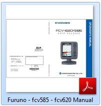 Furuno FCV-585 Manual