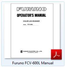 Furuno FCV-600L Manual