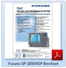 Furuno GP-1850WDF Brochure