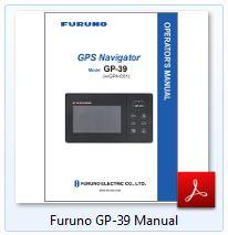 Furuno GP-39 Manual