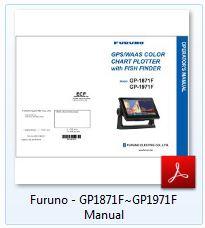 Furuno GP-1971F Manual