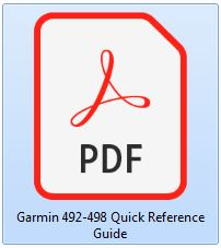 Garmin 492 - Quick Reference Guide