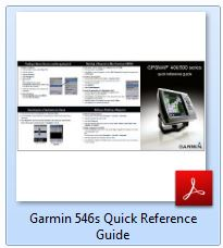 Garmin 546s - Quick Reference Guide