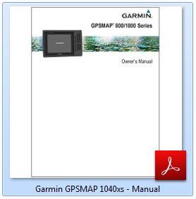Garmin GPSMAP 1040xs - Manual