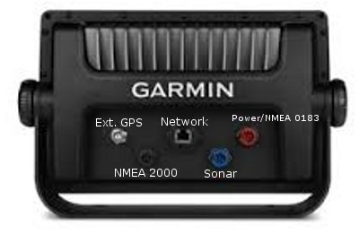Garmin GPSMAP 840xs - Rear Connections
