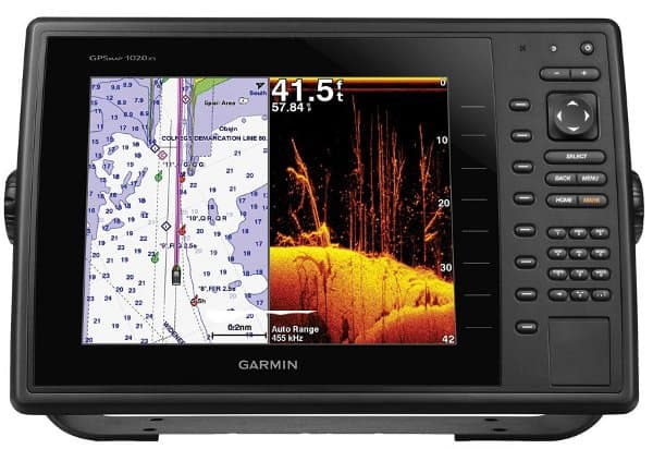 Garmin GPSMAP 1040xs - Charts & Garmin ClearVü