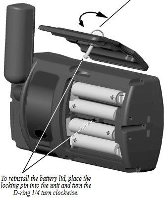 Garmin GPSMAP 176C Battery Pack