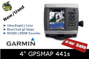 Garmin GPSMAP 441s - For Sale