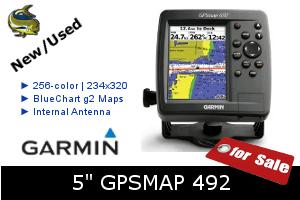 Garmin GPSMAP 492 - For Sale