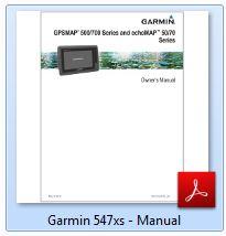 Garmin GPSMAP 547xs - Manual