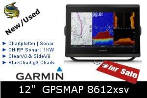 Garmin GPSMAP 8612xsv For Sale