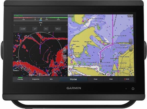 Garmin GPSMAP 8616xsv - Charting and Radar Screen