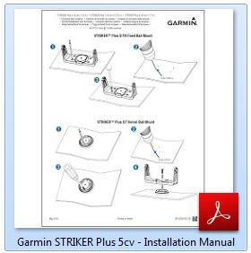 Garmin STRIKER Plus 5cv - Installation Manual