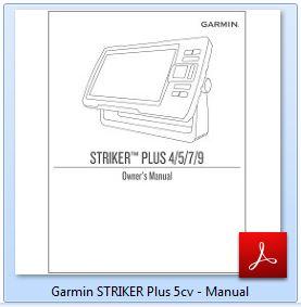 Garmin STRIKER Plus 5cv - Manual