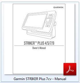 Garmin STRIKER Plus 7cv - Manual